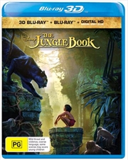Jungle Book, The | 3D + Blu-ray + Digital Copy