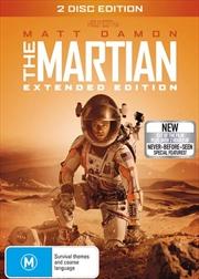 Martian - Extended Cut, The | DVD