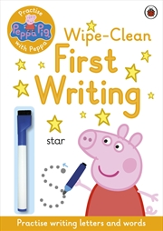 Peppa Pig: Practise with Peppa: Wipe-Clean First Writing | Paperback Book
