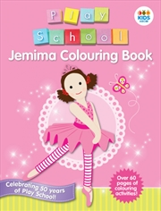 Jemima Colouring Book