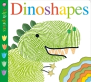 Alphaprints: Dinoshapes | Hardback Book