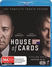 House Of Cards - Season 4 | Blu-ray