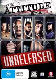 WWE - The Attitude Era - Unreleased - Vol 3 | DVD