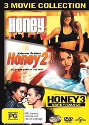 Honey / Honey 2 / Honey 3 - Dare To Dance   DVD