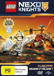 Lego Nexo Knights - Season 2 - Vol 1 | DVD