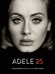 Adele 25: Easy Piano | Paperback Book