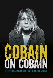 Cobain on Cobain | Paperback Book