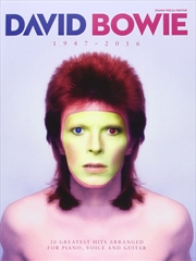 David Bowie: 1947-2016 | Paperback Book