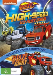 Blaze & The Monster Machines: High-Speed Adventures | DVD