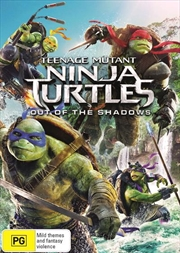 Teenage Mutant Ninja Turtles - Out Of The Shadows | DVD