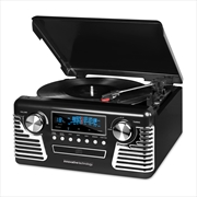 Innovative Technology Retro Stereo With Turntable