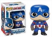 Captain America: Civil War - Captain America | Pop Vinyl