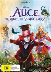 Alice Through The Looking Glass | DVD