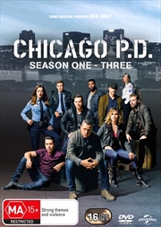 Chicago P.D. - Season 1-3 | Boxset | DVD