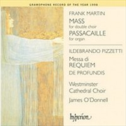 Martin/Pizzetti:Mass/Requiem | CD