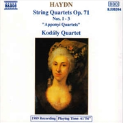 Haydn String Quartets Op.71,Nos.1-3 | CD