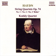 Haydn String Quartets Op.74,Nos.1-3 | CD
