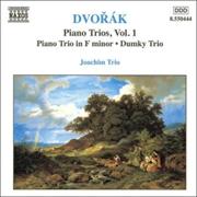 Dvorak Piano Trios Vol 1, Piano Trio in F Minor, Dunky Trio | CD