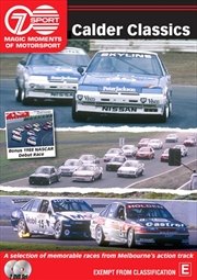 Magic Moments Of Motorsport - Calder Classics | DVD