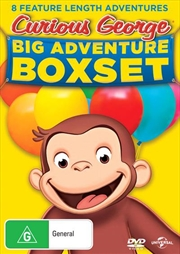 Curious George - Big Adventure | Boxset