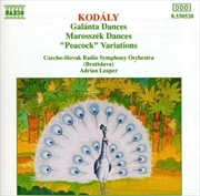 Kodaly Galanta Dances Marosszek Dances Peacock Variations | CD