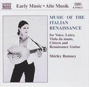 Music Of The Italian Renaissance | CD