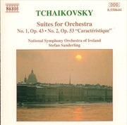 Tchaikovsky Suites For Orchestra No 1 Op 43, No 2 Op 53 | CD