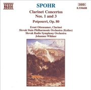 Spohr Clarinet Concertos 1 & 3 | CD