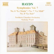 Haydn Symphonies Vol 7 No 6 ,7 & 8 | CD