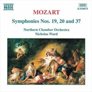 Mozart Symphonies No 19, 20 & 37 | CD