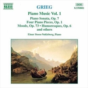 Grieg:Piano Music Volume 1 | CD