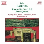Bartok Rhapsodies No 1 & 2 | CD