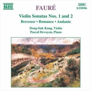 Faure Violin Sonatas No 1 & 2 | CD