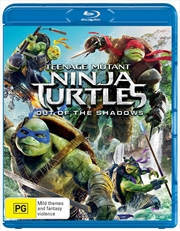 Teenage Mutant Ninja Turtles - Out Of The Shadows | Blu-ray