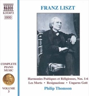 Liszt:Piano Music Volume 3 | CD