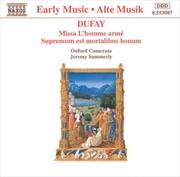 Dufay:Missa & Supremum   CD