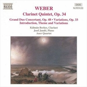 Weber: Clarinet & Piano Works | CD