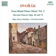 Dvorak: 4 Hand Piano Music Vol2 | CD