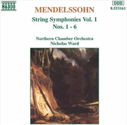Mendelssohn:String Sies Vol.1 | CD