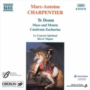 Charpentier:Te Deum/Mass & Motets | CD