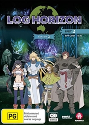 Log Horizon - Season 2 - Part 2 - Eps 14-25 | DVD