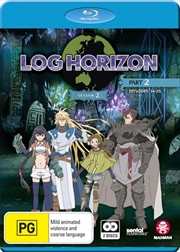 Log Horizon - Season 2 - Part 2 - Eps 14-25 | Blu-ray