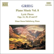 Grieg:Piano Music Volume 8
