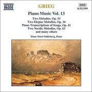 Grieg:Piano Music Volume 13 | CD