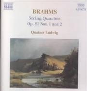Brahms: String Quartets Op. 51 | CD