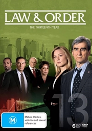 Law And Order - Season 13 | DVD