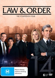 Law And Order - Season 14   DVD