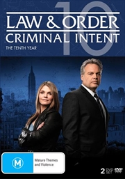 Law And Order - Criminal Intent - Season 10 | DVD