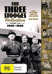Three Stooges - 1946-1948 - Vol 5   DVD