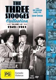 Three Stooges - 1949-1951 - Vol 6   DVD
